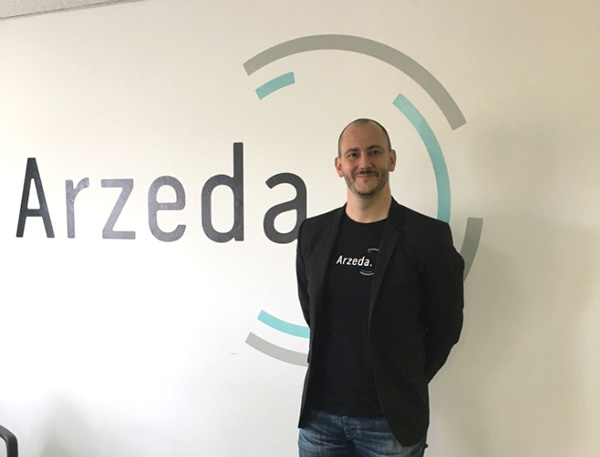 Arzeda Corporation CEO Alexandre Zanghellini氏